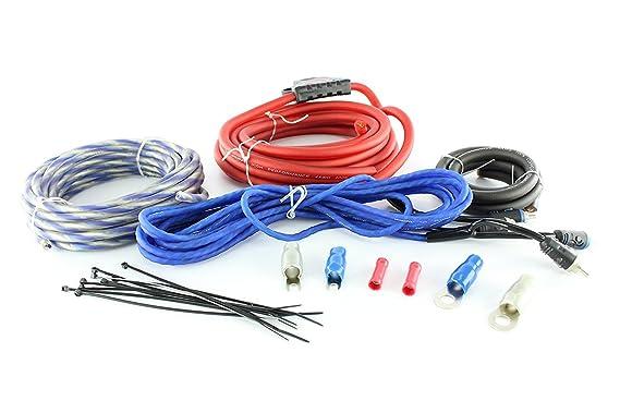 massive audio g8 install kit amp 8 gauge 100 copper maxi fuse rh amazon co uk