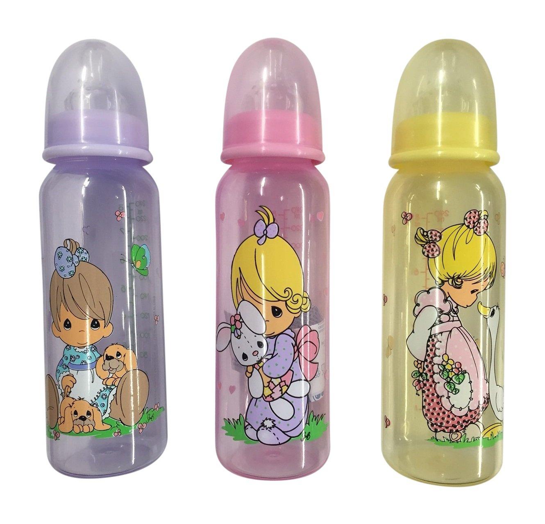 Precious Moments Luv n'Care BPA Free Feeding Bottles 3 8oz bottles by Precious Moments   B002GT3SFM