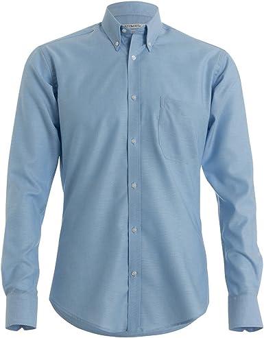 KUSTOM KIT - Camisa de Manga Larga de Tejido Oxford para Hombre: Amazon.es: Ropa y accesorios