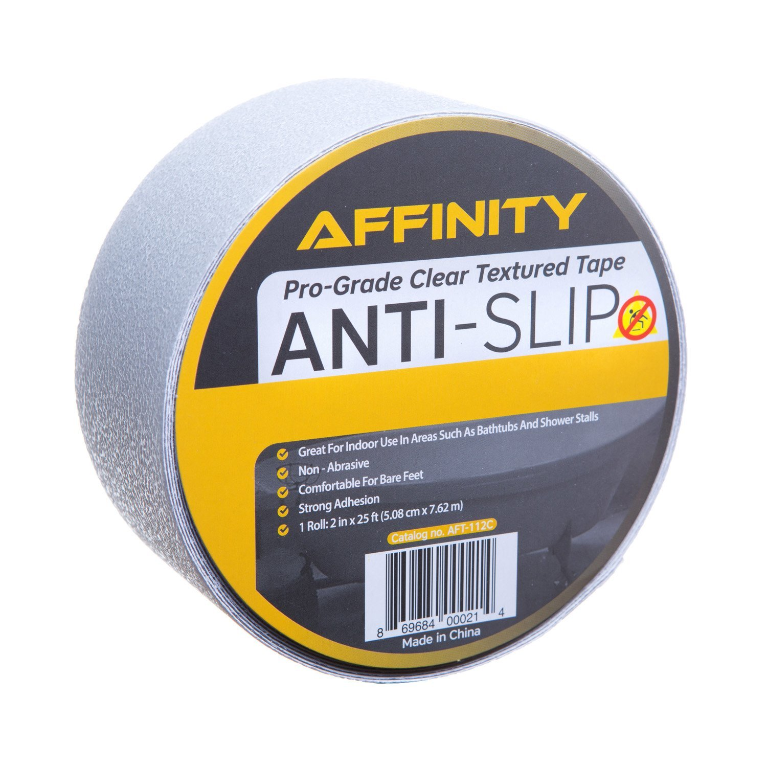 Amazon.com: AFFINITY Anti Slip Tape, Clear Textured Slip Resistant Safety  Tread, 25 Ft. Roll: Home U0026 Kitchen