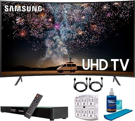 "Samsung UN55RU7300 55"" RU7300 HDR 4K UHD Smart Curved: Amazon.co.uk:  Electronics"