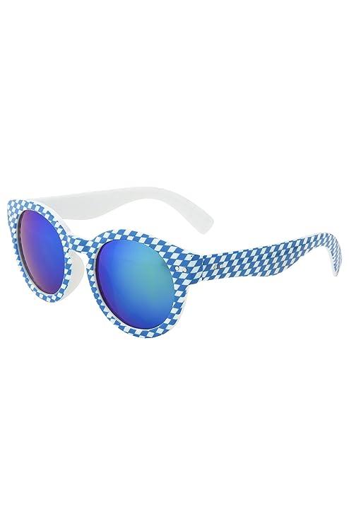 Gafas de sol de moda de diamantes con lentes espejados en 2 ...