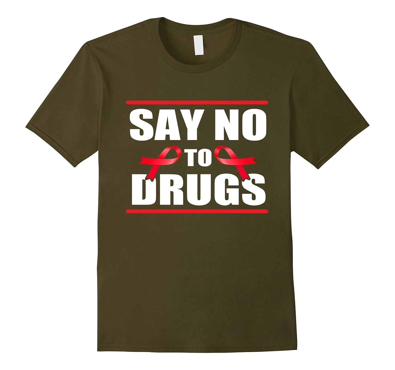 Red Ribbon Week Shirt October, Say No To Drugs Shirt-T-Shirt