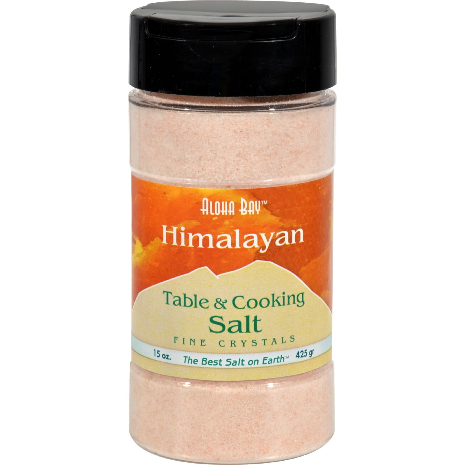 Himalayan Table And Cooking Salt Fine Crystals - 15 oz - Free Of Additives