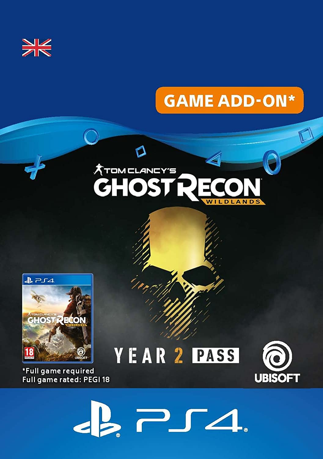 Tom Clancy's Ghost Recon Wildlands - Year 2 Pass DLC | PS4 Download