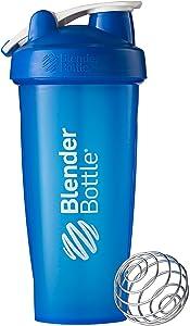 BlenderBottle Classic Loop Shaker Bottle, 28-Ounce Top, Blue/Blue