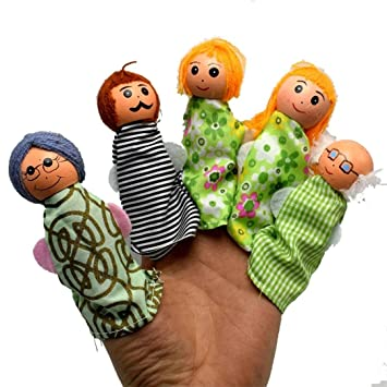 Bescita 5pcs whole family finger puppets hand puppets kids toy bescita 5pcs whole family finger puppets hand puppets kids toy easter gift negle Gallery