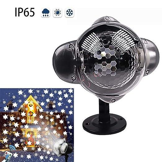 GEEDIAHY Luz de proyector de Nieve Que Cae, Lámpara de proyector ...