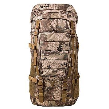 mochilas montaña 80L / hombres y mujeres de gran capacidad de espalda espalda al aire libre