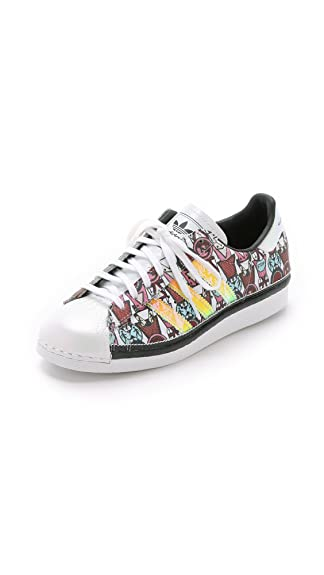 adidas Originals by Mary Katrantzou Women's MK Superstar '80s Badges  Sneakers, Multi, 8.5