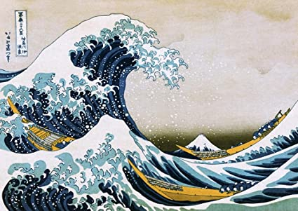 Image result for the great wave off kanagawa