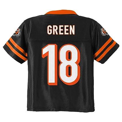 b59840454 Outerstuff A.J. Green Cincinnati Bengals  18 Black Youth Home Player Jersey