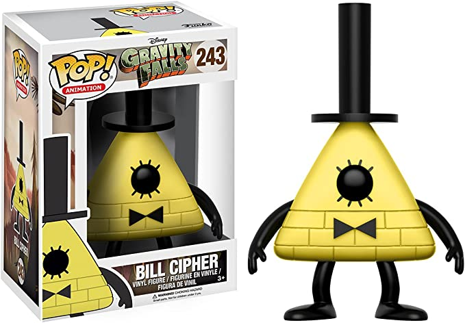 styles may vary Funko POP Disney Gravity Falls Bill Cipher Action Figure