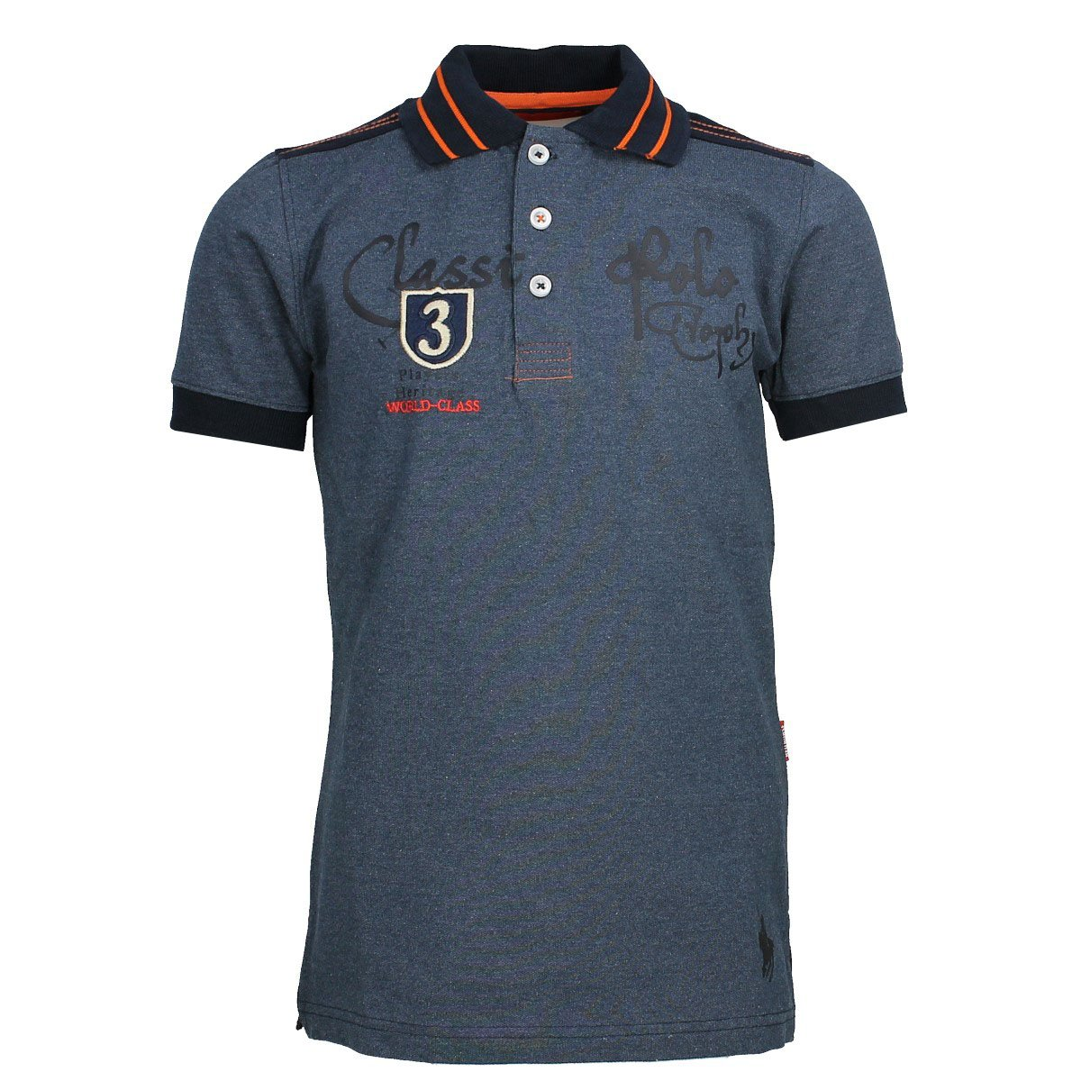 Horka Luka Childrens Polo Shirt - Denim Blue Horka International BV