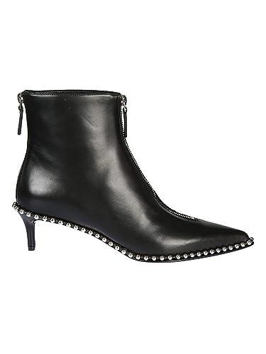 design professionnel inégale en performance détaillant Alexander Wang Femme 3028T0028L001 Noir Cuir Bottines ...