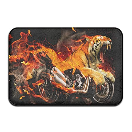 Ordinaire COBAG Ducati Diavel Tiger Fire Fantasy Doormats / Entrance Rug Floor Mats