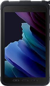 "Samsung Galaxy Tab Active3 Enterprise Edition 8"" Rugged Multi Purpose Tablet |64GB & WiFi & LTE (Unlocked) | Biometric Security (SM-T577UZKDN14), Black"