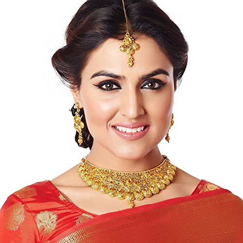 Gold Plated Necklace Sets For Women Image
