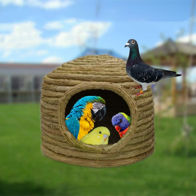 HDAILE Convenient Pigeon Egg Bird Nest Warm Bird Nest Pigeon Supplies Utensils Pigeon House Breeding Pigeon Rack Nest Box Breeding Pair Caged Dove Size : Birdhouses