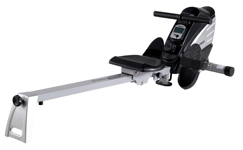 Care Fitness STRIALE SR-910 Rower Schwarz/Silber, 48