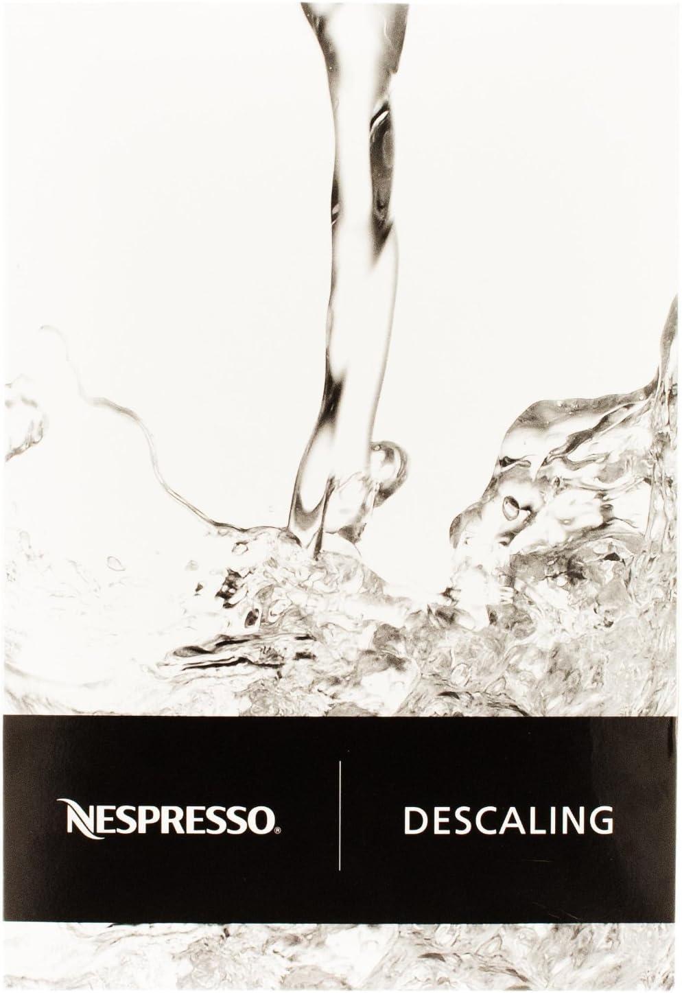 Nespresso Descaler 3035/CBU-2 para Essenza, Lattissima, Cube ...