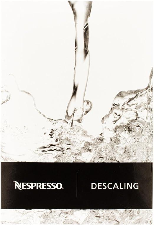 Nespresso Descaler 3035/CBU-2 para Essenza, Lattissima, Cube, Citiz, Pixie - cafetera - Dos Kits de descalcificación ...