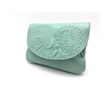 Cartera Portamonedas Monedero para Mujer Marca: Lugupell - Color Oceano (12,5 x 9 cm): Amazon.es: Equipaje