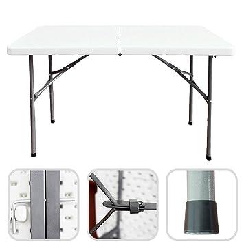 Todeco   Klappbarer Tisch , Garten Klapptisch   Material: HDPE   Maximale  Belastbarkeit: 100