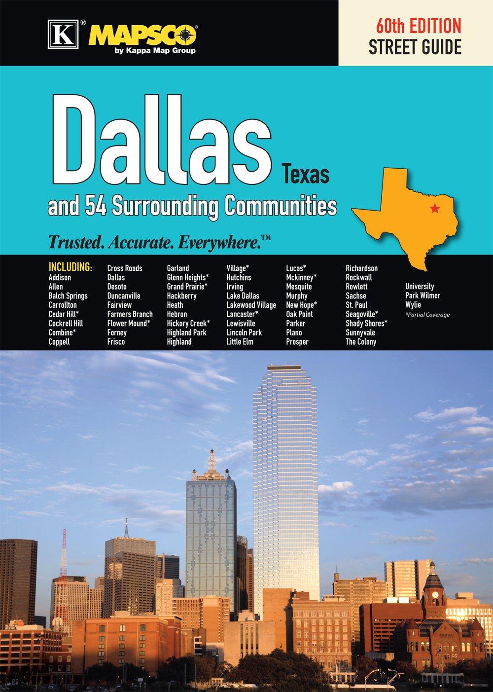 Mapsco 2011 Dallas Street Guide (Mapsco Dallas Street Guide): Not ...