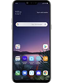 LG G8 ThinQ with Alexa Hands-Free – Unlocked SMARTPHONE – 128 GB – Aurora Black – Verizon, AT&T, T–Mobile, Sprint, Boost...