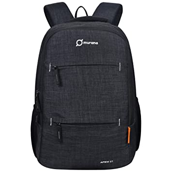 ebd1ac7f94b6 Murano Apex 27 Ltr Laptop Backpack for 15.6 inch Laptop and Polyester Water  Resistance Backpack- Black: Amazon.in: Bags, Wallets & Luggage