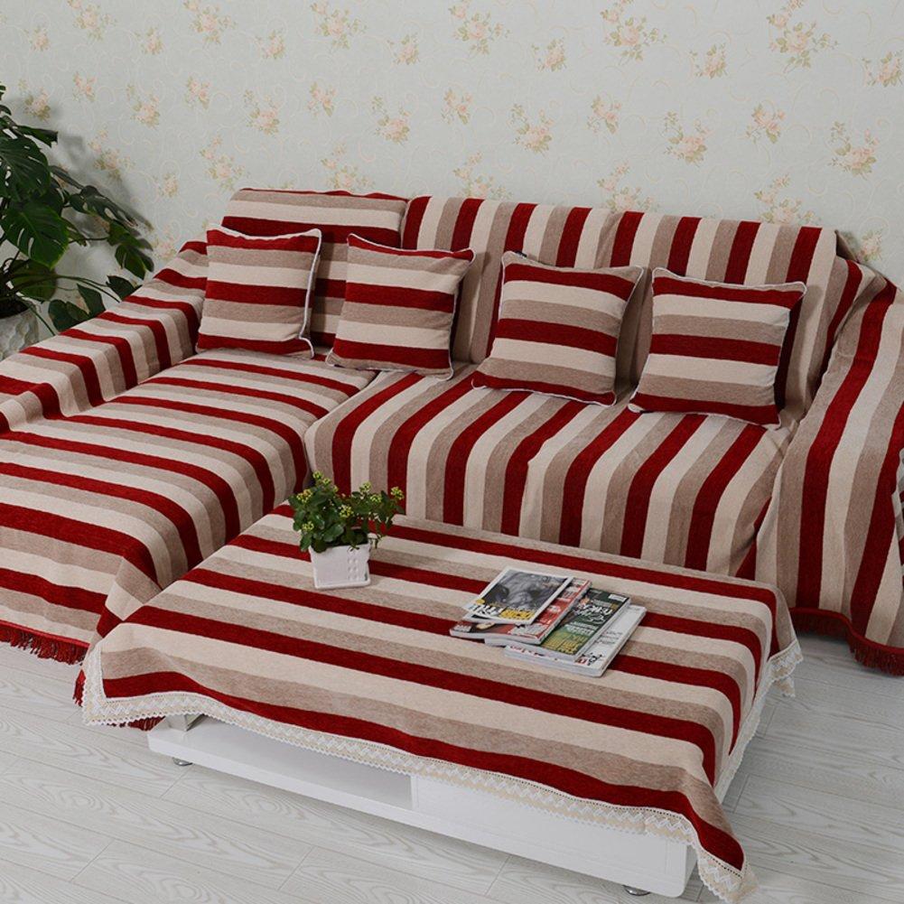 European style sofa cover sofa Skid padded fabric sofa a full towel B 180x280cm(71x110inch) by Sofa towel
