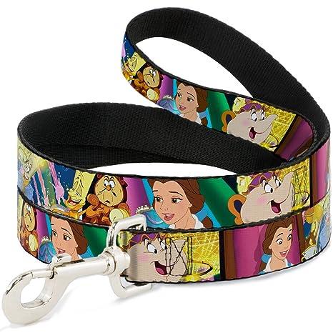Disney Beauty & - Correa para Perro, diseño con Texto en inglés ...