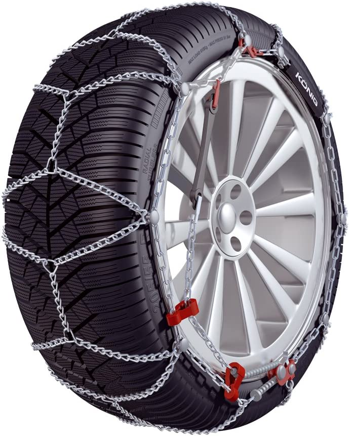 Snow Chains 2 Pieces K/ÖNIG K-Slim 102