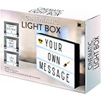 A4 cinématographique Boîte à lumière Panneau avec lettres et emoji pour les fêtes, les mariages, les jalons de promotion, Baby