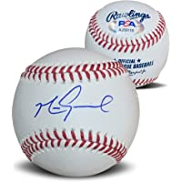 $99 » Mark Grace Autographed MLB Signed Baseball PSA DNA COA With Display Case