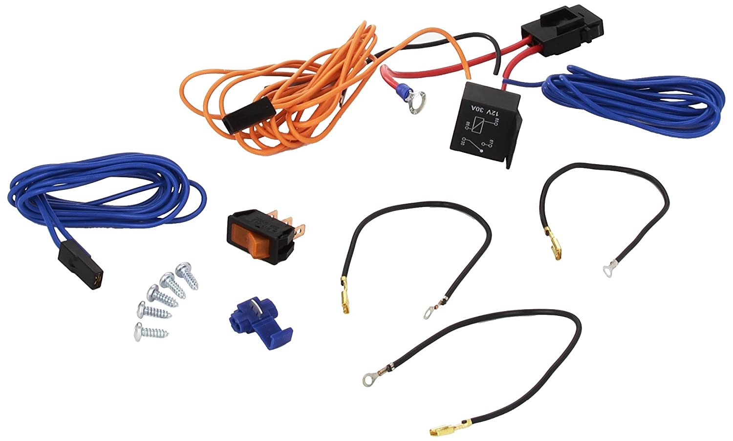 Ring Automotive Rlfk200 Professional Pre Wired Accessory Lighting Wiring Up Spotlights Fitting Kit Car Motorbike