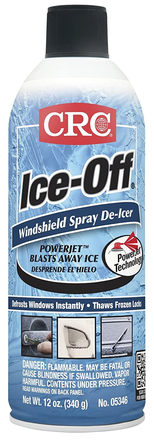 Ice-Off Windshield Spray De-Icer - 12 oz. ice-off spray dei [Set of 12] CRC 05346