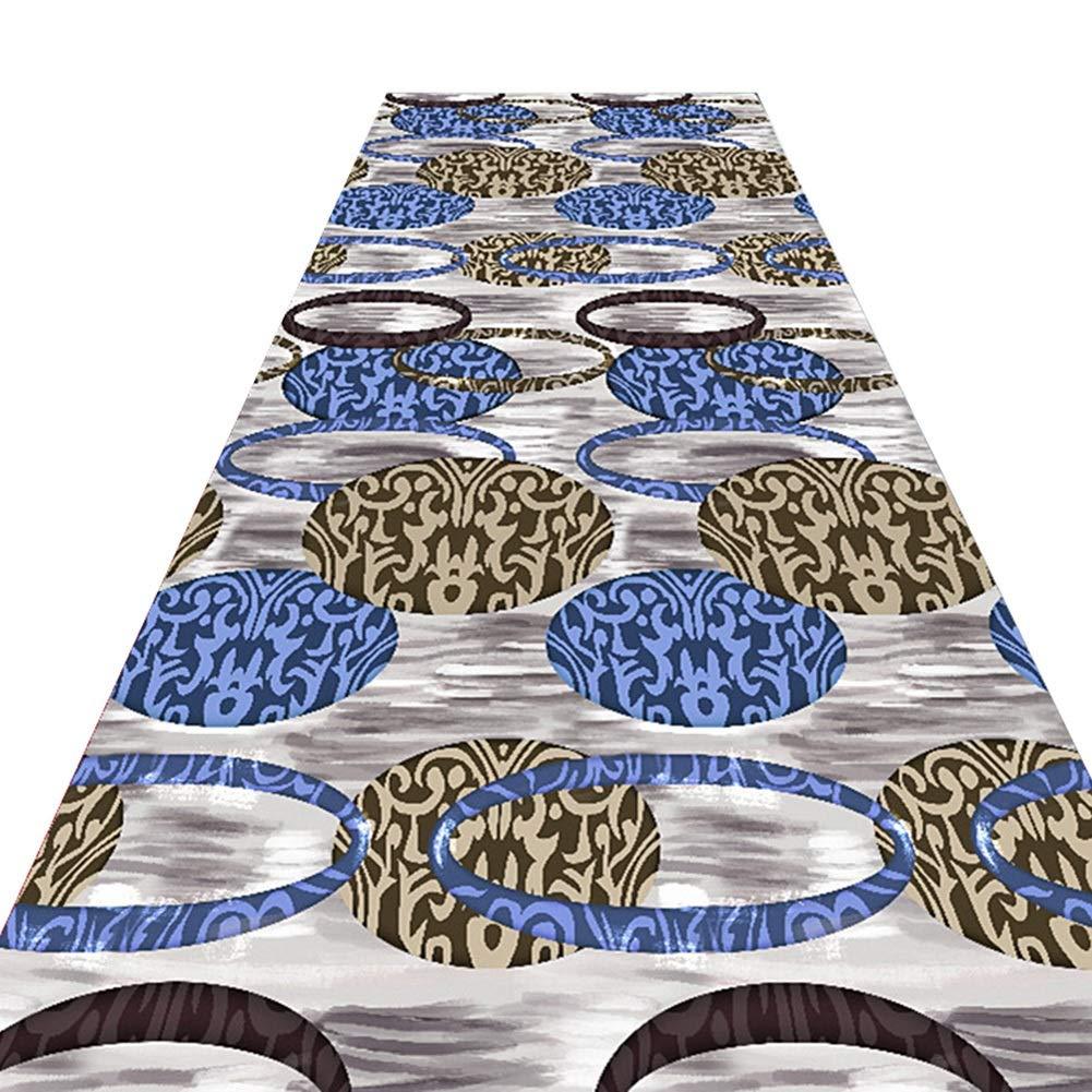 GUORRUI 廊下敷きカーペッ 滑り止め 柔らかい 無臭 環境を守ること ホール エントランス カーペット 通路 廊下 ホーム、 2つのスタイル カスタマイズのサポート (Color : A, Size : 1.2x5m) B07TQMQY55 A 1.2x5m