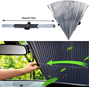 Sweepstakes: AUTOPDR Universal Car Retractable Windshield Sun Shade Auto...