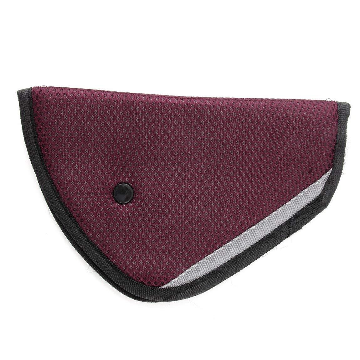 SeniorMar 8 Couleur Livraison Gratuite Voiture Safe Fit Seat Belt Adjuster Ceinture de sécurité de Voiture Ajuster Dispositif bébé Enfant Protecteur positioner Respirant