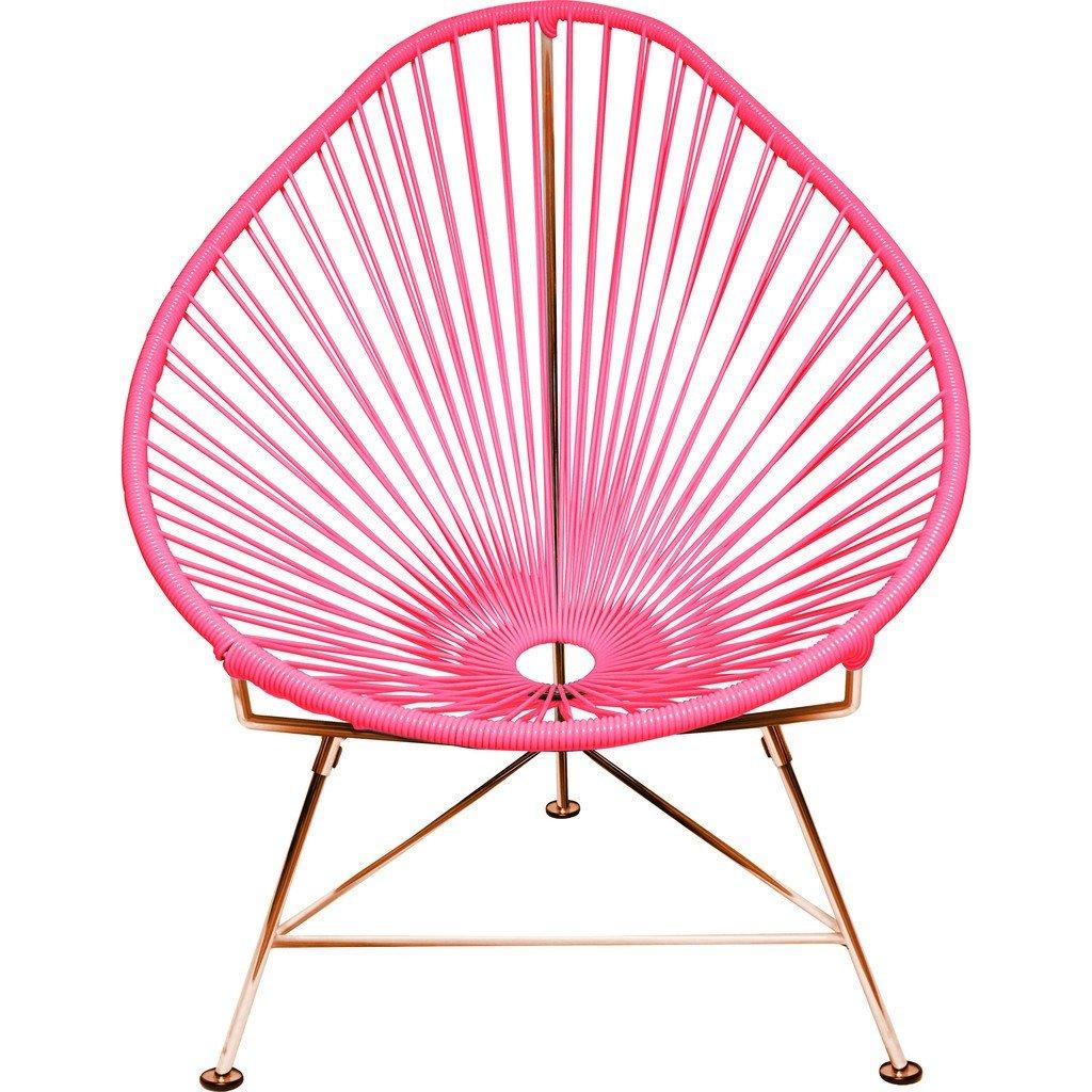 Amazon.com: innit diseños Junior Acapulco Chair |/Bubblegum ...