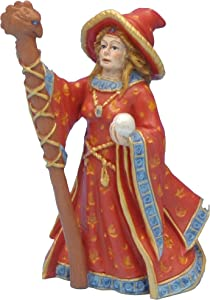 Pennplax Female Wizard Aquarium Resin Ornament, Mini