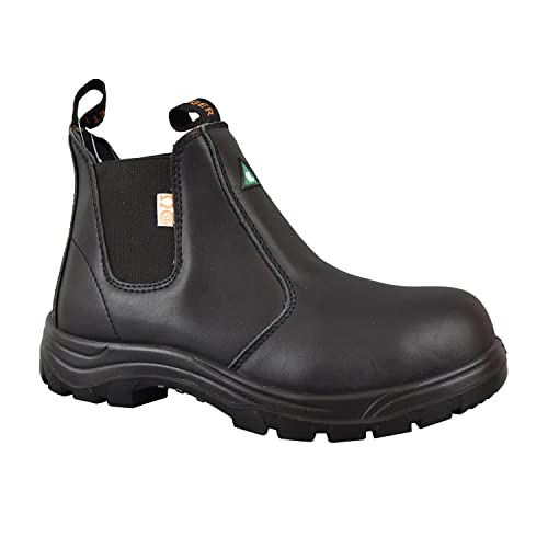 373701b130b TIGER SAFETY MEN S LIGHTWEIGHT CSA LEATHER WORK SAFETY BOOTS - 5925 (7 3E  US MEN