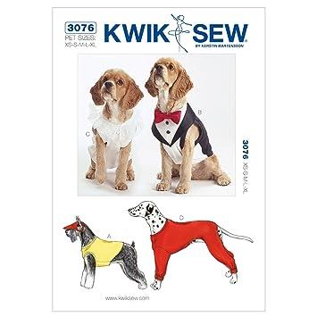 KWIK-SEW PATTERNS Kwik Sew Muster K3076 Größe Extra Small/Medium ...