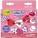 Crayola Model Magic Heart Garland, Valentine Craft Kit, Gift for Kids Ages 5, 6, 7, 8
