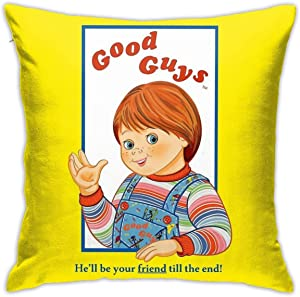 Mabel Child's Play - Good Guys - Chucky Square(45cmx45cm) Pillow Home Bed Room Interior Decoration