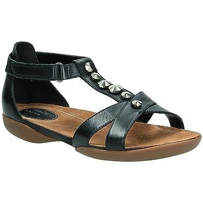 38b3e9b16 Clarks Ladies  Raffi Scent  Leather Sandals  Amazon.co.uk  Shoes   Bags