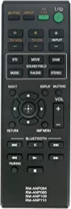 New RM-ANP109 Replaced Remote fit for Sony Audio Vidio System HT-CT260 SA-CT260 HT-CT260C HT-CT260H HT-CT260HP SA-CT260H SA-WCT260H RM-ANP084 HT-CT260 HT-CT260W Home Theater Sound RM-ANP084