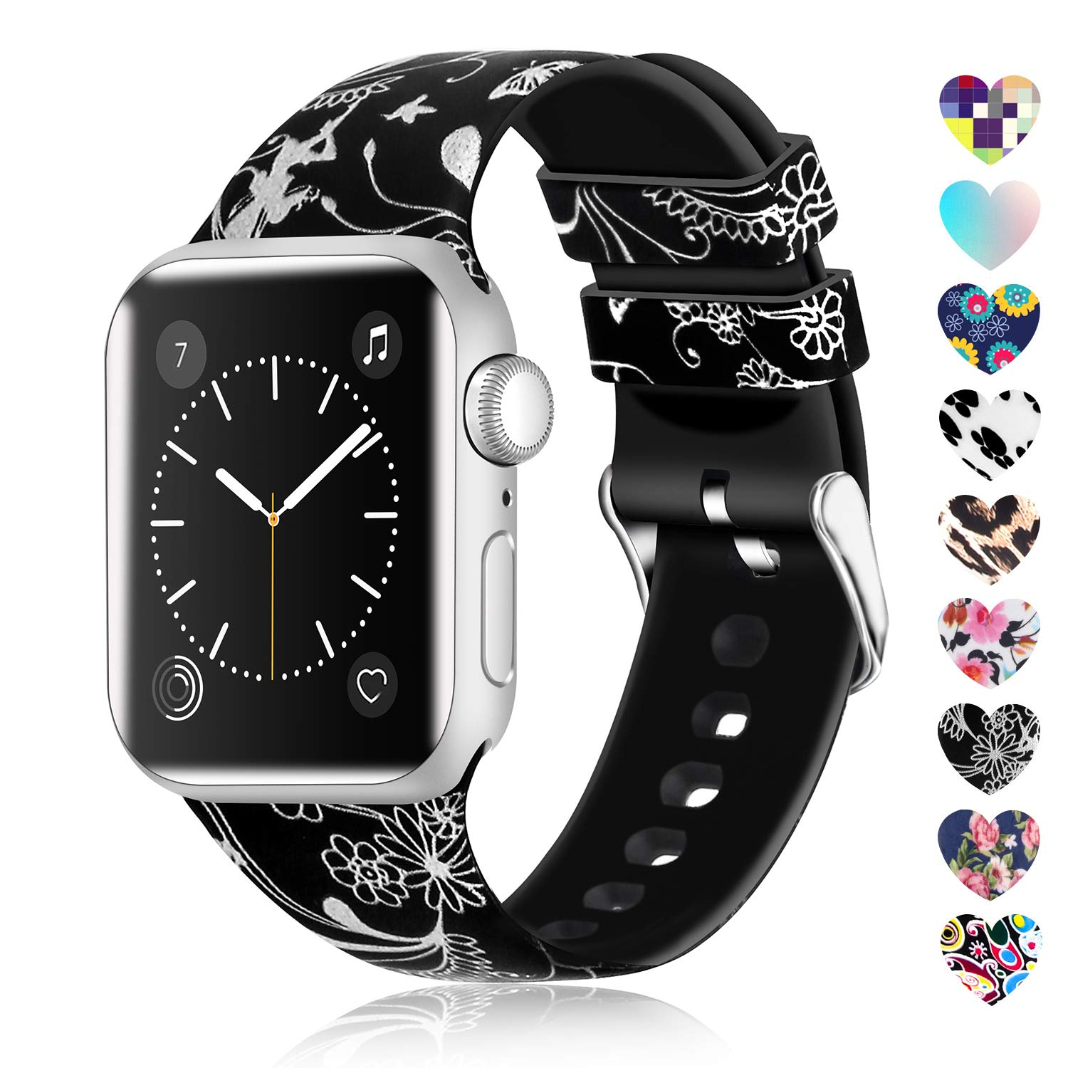 Malla Silicona para Apple Watch (42/44mm) LWSENGME [FGF1KNG]